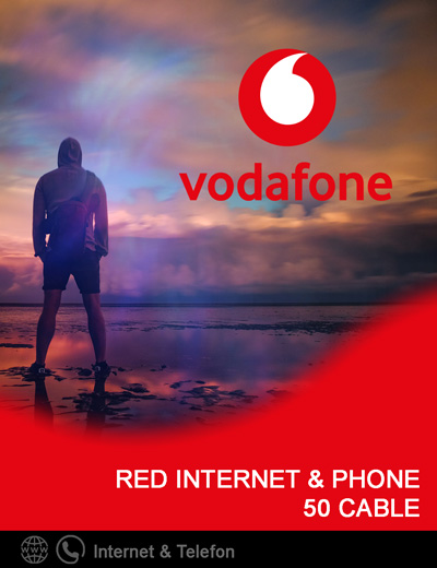 Produkt Box Vodafone Red Internet & Phone 50 Cable