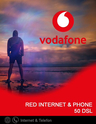 Produkt Box Vodafone Red Internet & Phone 50 DSL